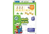 LeapFrog Math Skills Dry Erase Activity Book, 5' x 7'