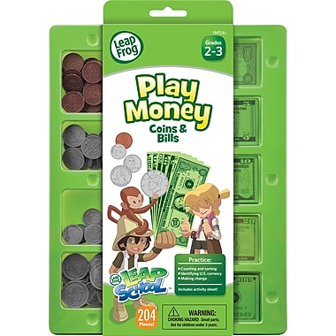LeapFrog Play Money Coins & Bills Tray