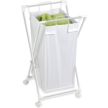 Honey Can Do Single Folding Hamper With Removable Bag