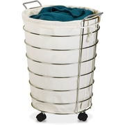 Honey Can Do Chrome Rolling Hamper