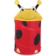 Honey Can Do Kid's Pop-Up Hamper, Lady Bug