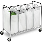 Honey Can Do Heavy-duty Quad sorter, Chrome