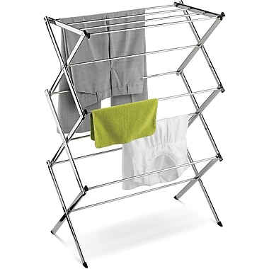 Honey Can Do® Commercial Chrome Accordion Drying Rack