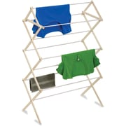 Honey Can Do Wood Knockdown Drying Rack, 24 linear feet