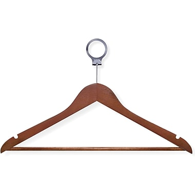 Honey Can Do 24 Pack Hotel Suit Hangers, Cherry