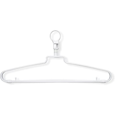 Honey Can Do 72 Pack Hotel Hangers With Security Loop