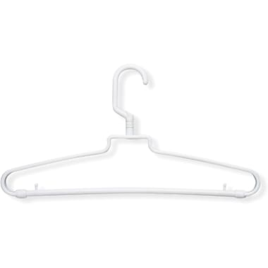 Honey Can Do 72 Pack Hotel Style Hangers, White
