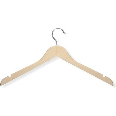 Honey Can Do 20 Pack Basic Shirt Hanger, Maple