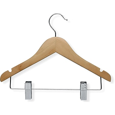 Honey Can Do 10 Pack Kid's Basic Hanger with Clip