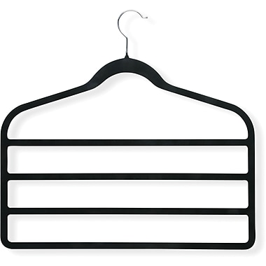 Honey Can Do 4 Pack Velvet Touch 4-step Hanger