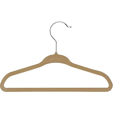 Honey Can Do 60 pack Kids Velvet Touch Suit Hangers