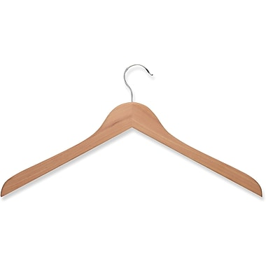 Honey Can Do 10 Pack Wood Shirt Hanger, Cedar