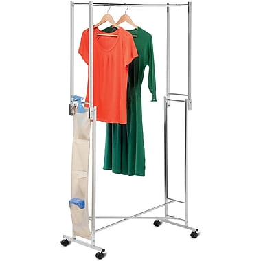 Honey Can Do Steel Double Folding Garment Rack