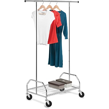 Honey Can Do Bottom Shelf Garment Rack