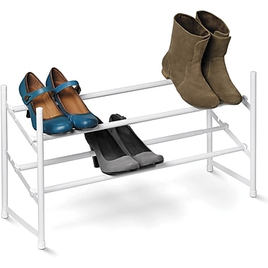 Honey Can Do 2-Tier Expandable Shoe Racks