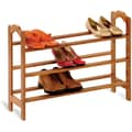Honey Can Do 3-tier Bamboo Shoe Rack
