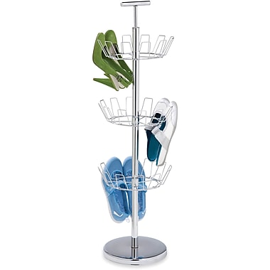 Honey Can Do 3 Tier Chrome Shoe Tree