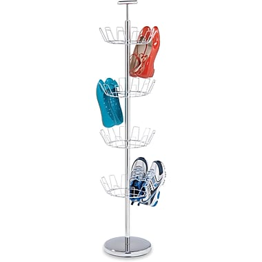 Honey Can Do 4 Tier Chrome Shoe Tree