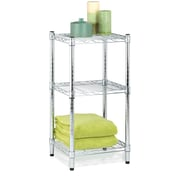 Honey Can Do 3-Tier Modular Stacking Shelf, Chrome
