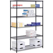 Honey Can Do 6-Tier Steel Shelving- 600 Lb. Capacity, Black