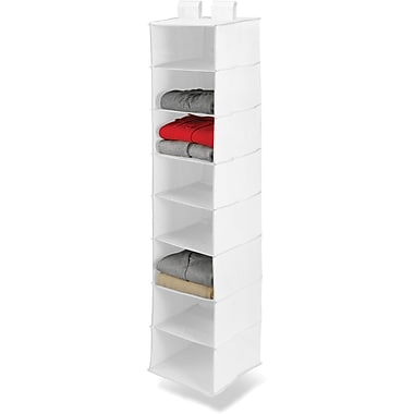 Honey Can Do 8 Shelf Hanging Organizer, White