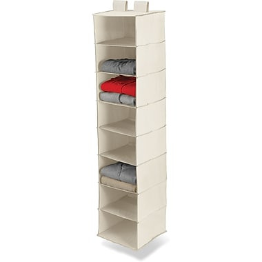 Honey Can Do 8 Shelf Hanging Organizer, Beige