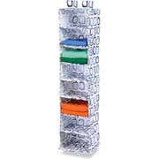 Honey Can Do 8 Shelf Hanging Organizer, Blue Print