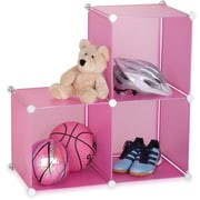 Honey Can Do 3 Pack Storage Cubes, Pink