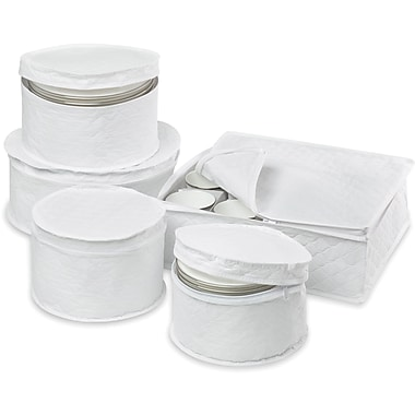Honey Can Do 5 Piece Dinnerware Storage Set