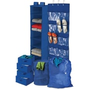 Honey Can Do Back To School Home Organization Kit, Blue