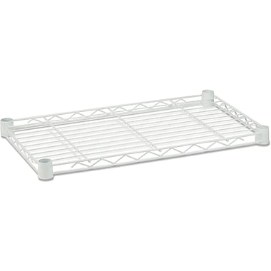 Honey Can Do Steel Shelf- 350 Lb. 16in. X 36in., White