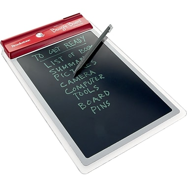 Brookstone® Boogie Board LCD Paperless Writing Tablet, Red