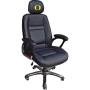 Wild Sports NCAA Leather Executive Chair, Oregon Ducks