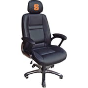 Wild Sports NCAA Leather Executive Chair, Syracuse Oragnemen
