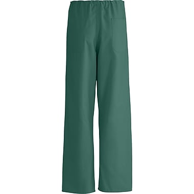 AngelStat® Unisex Rev A-Stat Drawstring Scrub Pants, Hunter Green, ANG-CC, XS, Reg Length