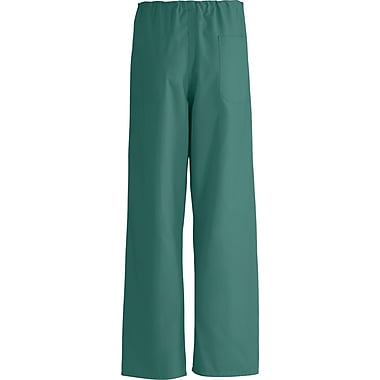 AngelStat® Unisex Rev A-Stat Drawstring Scrub Pants, Emerald, ANG-CC, Small, Reg Length