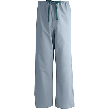 Medline AngelStat Unisex Small Reversible Drawstring Scrub Pants, Misty Green (600NTZS-CM)