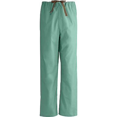 Medline Unisex Rev Drawstring Scrub Pants, Jade, XL, Reg Length