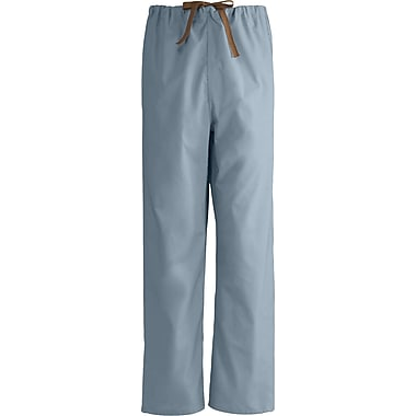 Medline Unisex Rev Drawstring Scrub Pants, Misty Green, Large, Reg Length