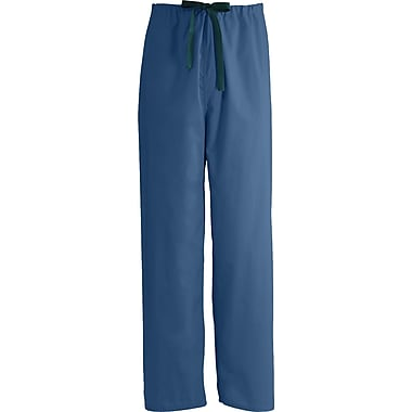 Encore™ Unisex Rev Drawstring Scrub Pants, Navy, FASCC2XL, Reg Length
