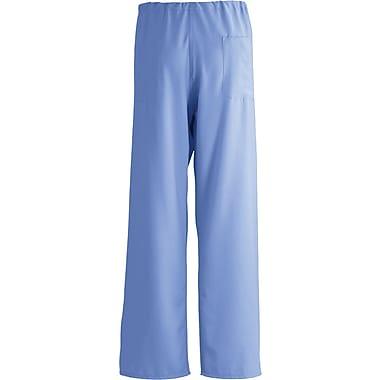 PerforMAX™ Unisex Rev Drawstring Scrub Pants, Ceil Blue, FASCCLarge, Reg Length