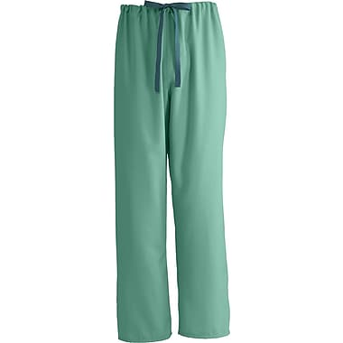 PerforMAX™ Unisex Rev Drawstring Scrub Pants, Jade, ANG-CC, Small, Reg Length