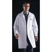Medline Unisex Knee Length Lab Coats, Light Blue, Medium