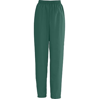 Medline AngelStat Women XS Elastic with Draw Cord Scrub Pant, Hunter Green (854NHGXS)