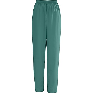 AngelStat® Ladies Elastic Draw Cord Scrub Pants, Emerald, XL