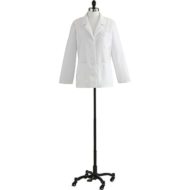 Medline Ladies Consultation Lab Coats, White, 4 Size