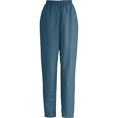 Medline ComfortEase Women 4XL Elastic Waist Scrub Pant, Caribbean Blue (8850JCB4XL)