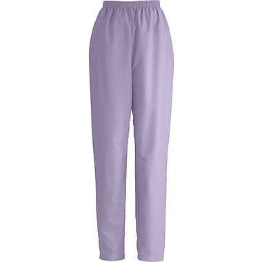 Medline ComfortEase Women Small Elastic Waist Scrub Pant, Lavender (8850JLVS)