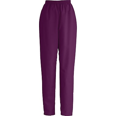 Medline ComfortEase Women XL Elastic Waist Scrub Pant, Wine (8850JWNXL)