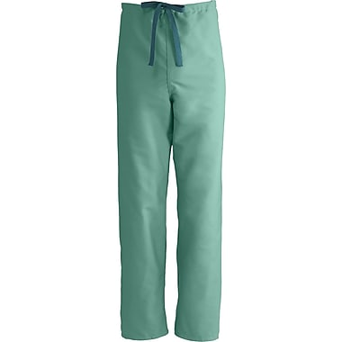 Medline ComfortEase Unisex XL Reversible Scrub Pants, Jade Green (900JTJXL-CM)